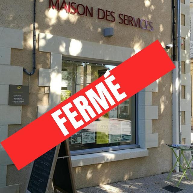 Office de tourisme Moncontour fermé