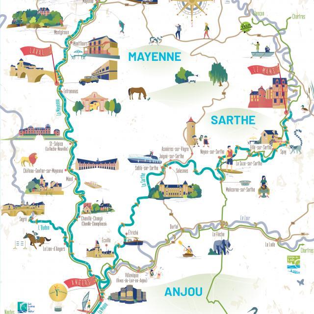 Carte Rivière De L'ouest