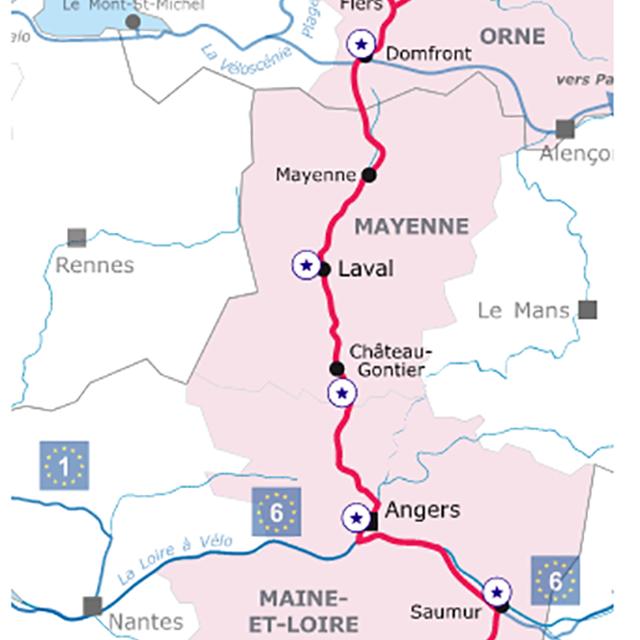La Vélo Francette Itinéraire Cyclable De Caen à La Rochelle