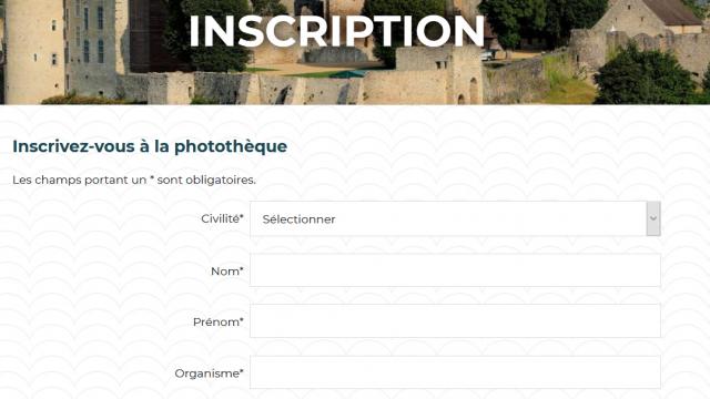 Inscription médiathèque - phototèque Mayenne Tourisme