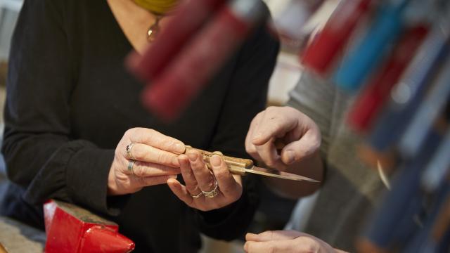 Stage Fabriquer Son Couteau Saint Sulpice Cp Prisma Laval