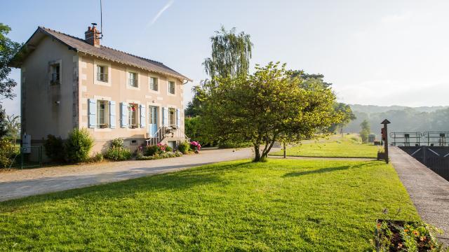Maison éclusière Mayenne