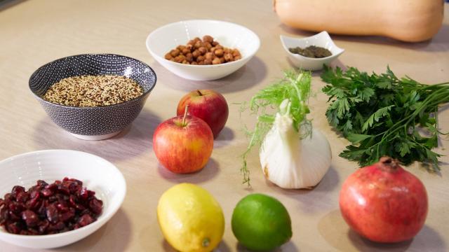 Atelier Cuisine Fourchette Académie - Ingrédients