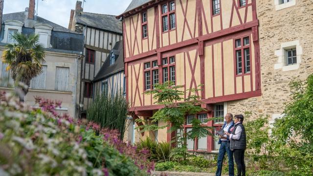Maison à pans de bois - Château-Gontier-sur-Mayenne
