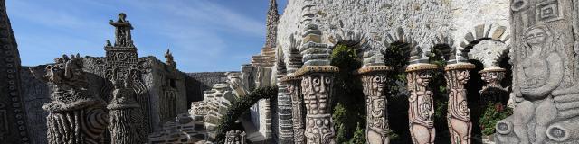 Le jardin des méditations - Musée Robert Tatin