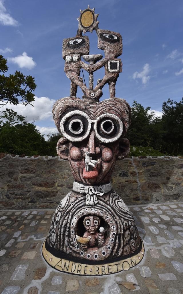 André Breton - Musée Robert Tatin