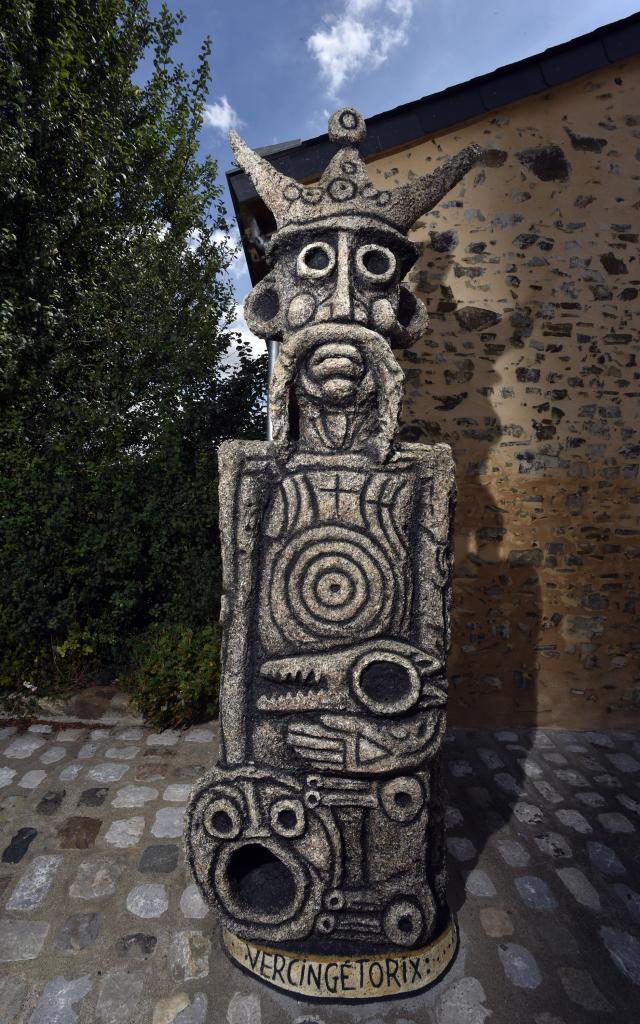 Vercingetorix - Musee Robert Tatin