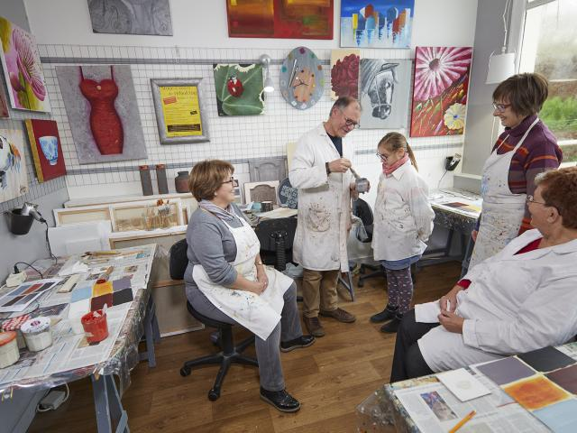 Atelier Peindre la Vie du Bon Côté Art'PeinTube