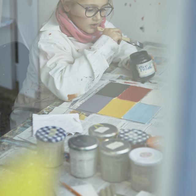 Atelier Peindre la Vie du Bon Côté Art'PeinTube Patine