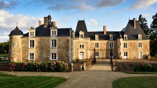 Château des Arcis - Façade