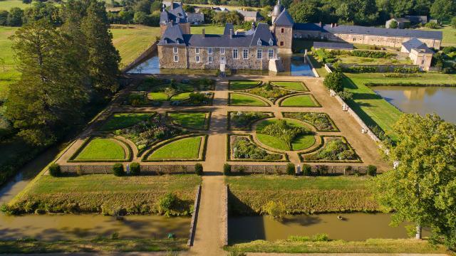 Château des Arcis - Vue parc