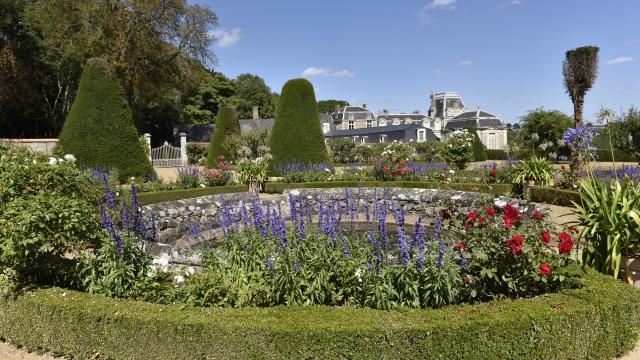 Château de la Rongère - Vue jardin
