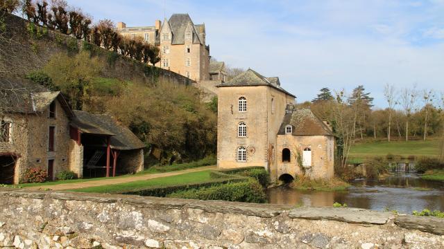 Moulin de Thévalle à Cheméré-le-Roi