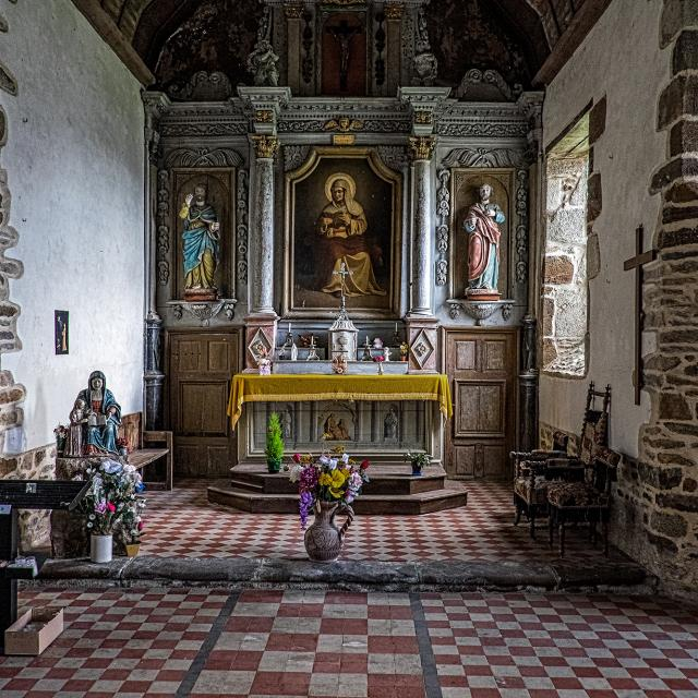 Chapelle Sainte-Anne de Champfrémont