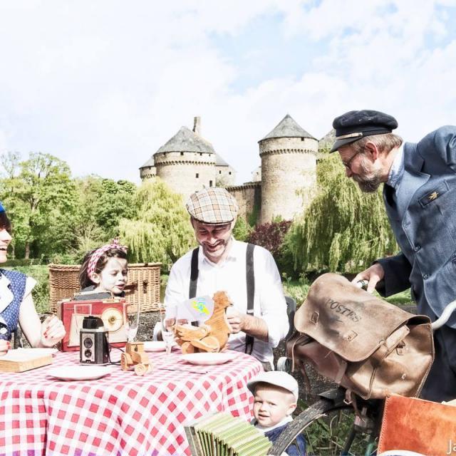 Visites théatralisées à Lassay Les Châteaux