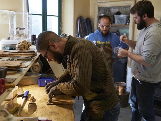 Stage Fabriquer son Couteau Coutellerie du Maine Anjou - tracer