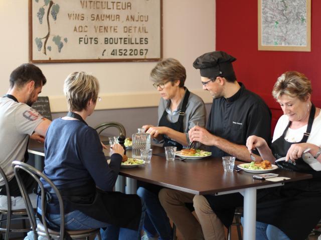 Le Beyel - repas - Origne