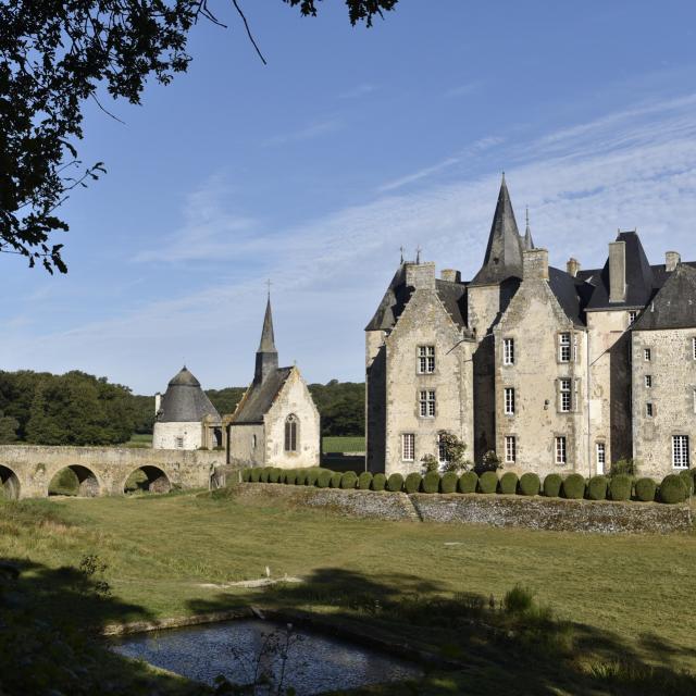 Chateau De Bourgon - Montourtier