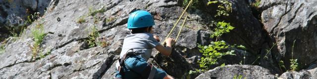 Escalade au Canyon de Saulges