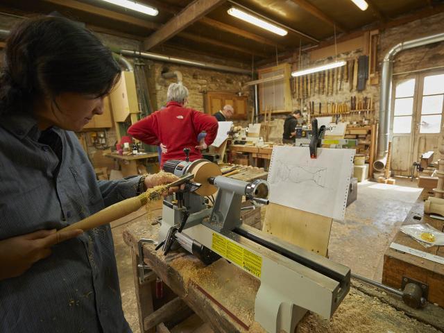 Stage tournage sur bois - Atelier de l'Abbaye