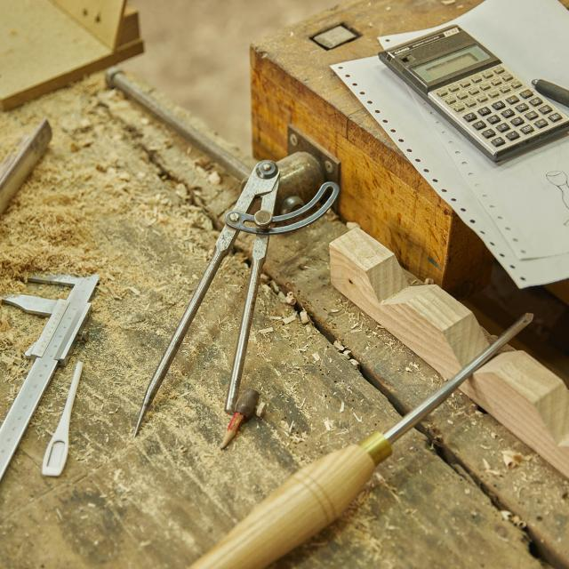 Atelier de l'Abbaye - Stage tournage sur bois - outils