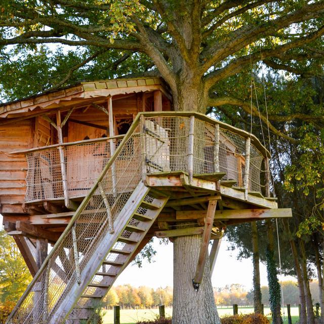 La Chouette Cabane - Pommerieux