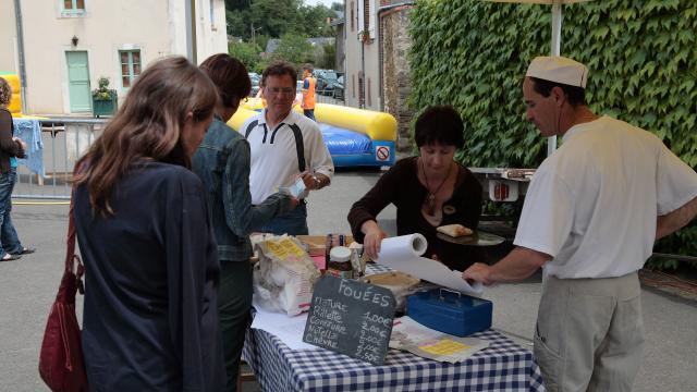 Marché gourmand - Saint Denis D Anjou