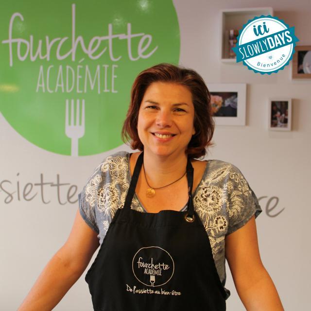 Emmanuelle Greco Fourchette Académie Laval Slowlydays