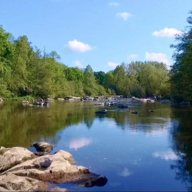 La rivière la Mayenne
