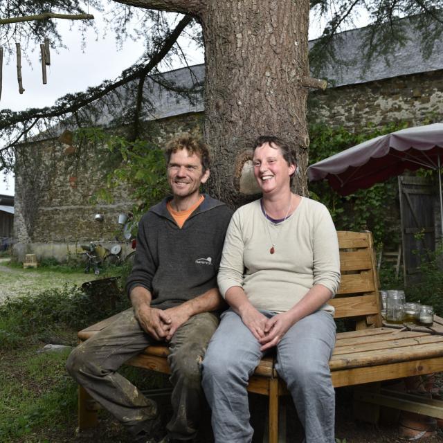 Ferme Arc en Ciel - Willem et Marieke de Kam - Bazougers