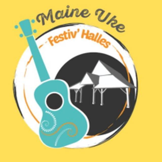 Logo Maine Uke Festiv'halles