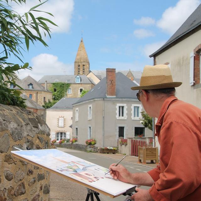 Journées des Peintres dans la rue - Parné sur Roc