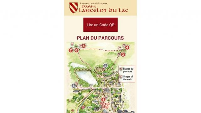 Sentier Lancelot du Lac