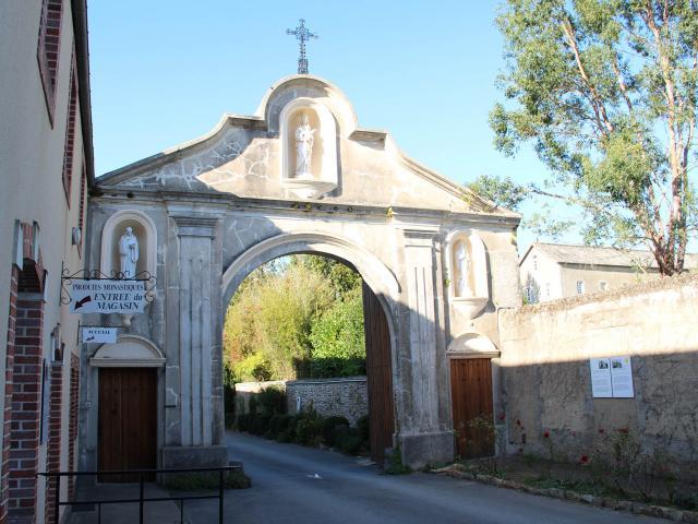 Abbaye D'entrammes - entrée