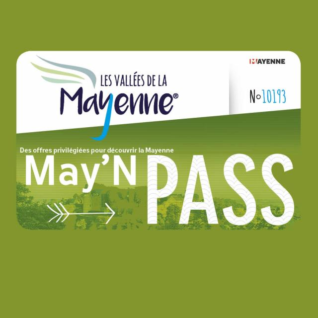 Carte May'N Pass - Mayenne Tourisme