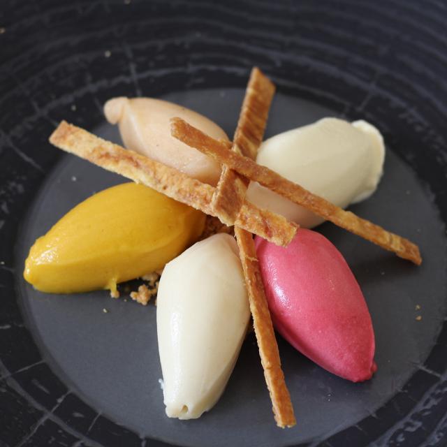 Dessert Glace - Hotel - Restaurant - Perrier du Bignon - Laval - Mayenne
