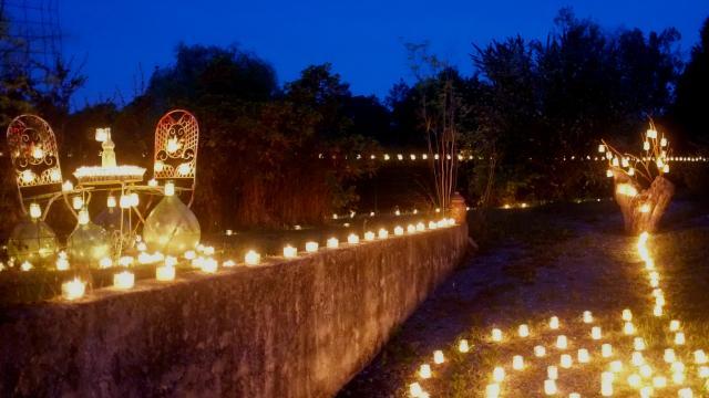 Fête des lumières à Saint-Pierre-sur-Erve