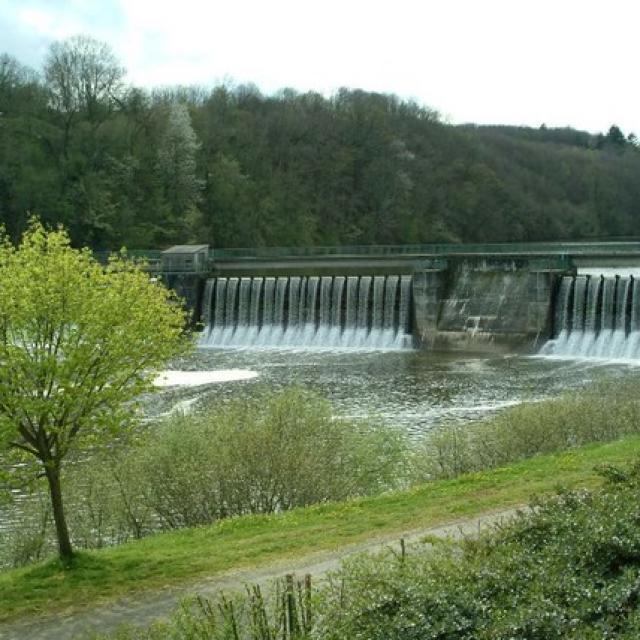 Barrage de St Fraimbault de Prières
