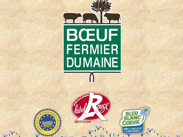 Logos - Le Boeuf fermier du Maine