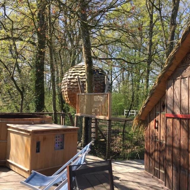 Cabane Lov'nid - Domaine de Vaulx - la Baconnière