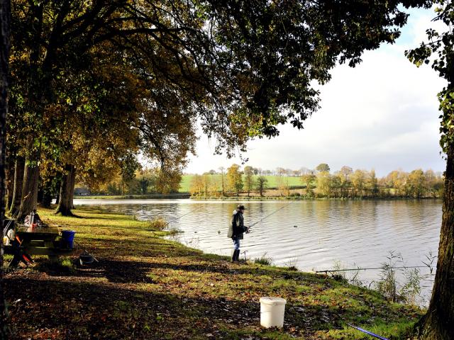 Pêche à l'étang Neuf Juvigné