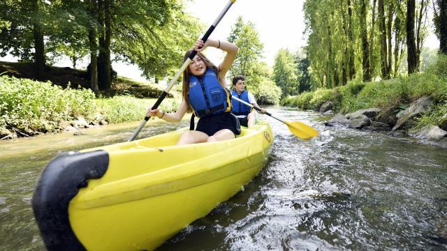 Canoë Kayak Au Parc De La Colmont