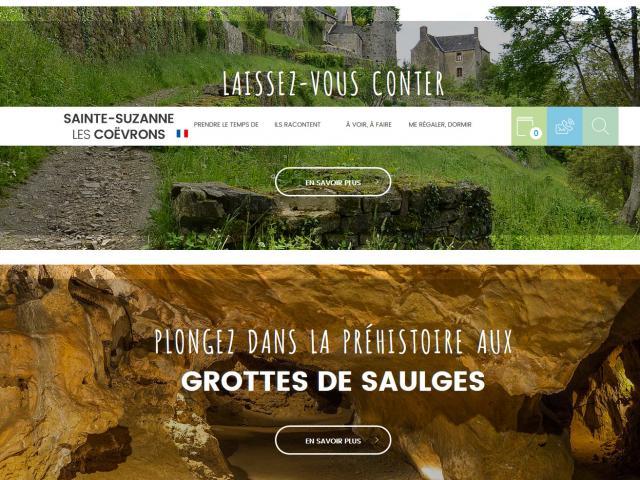 Screenshot 2020 06 18 Office De Tourisme De Sainte Suzanne Les Coëvrons