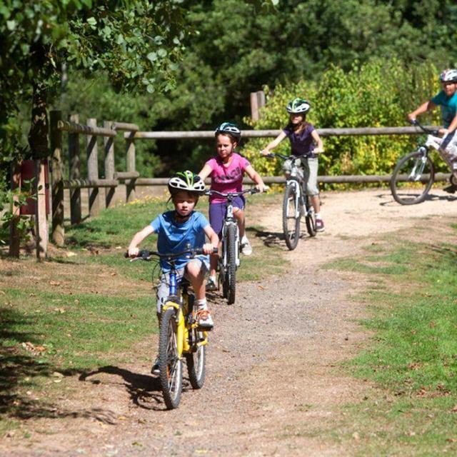 Vélo Camping Parc des Vaux