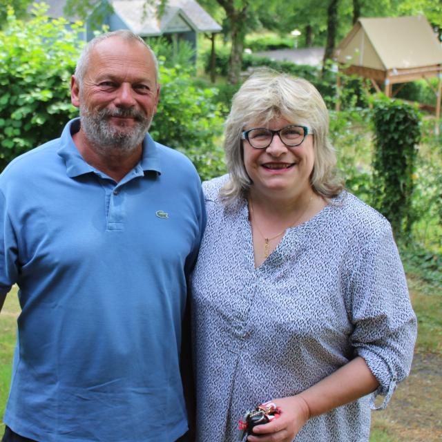 Véronique Et Jean Marie Gamain Camping Du Parc De Vaux