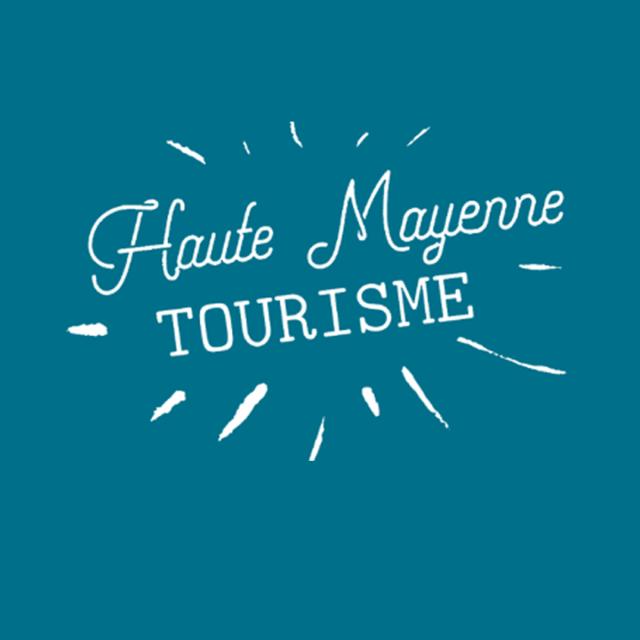Logo Hm Carré Sur Fond Bleu