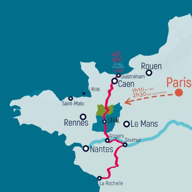 Carte Venir En Haute Mayenne 3