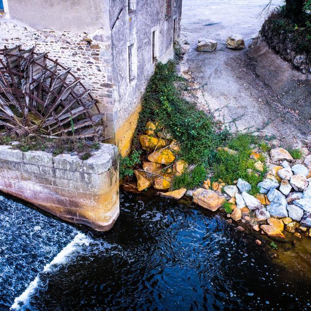 Moulin drone la Mayenne Rivières de l'ouest
