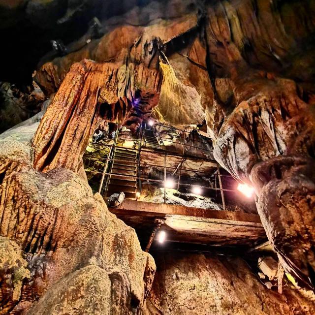 Grottes de Saulge - thorigne en Charnie