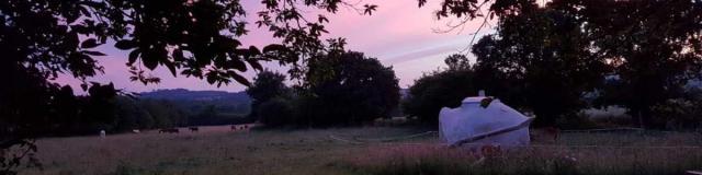 Soleil Couchant Kerterre domaine des pierres jumelles Mayenne